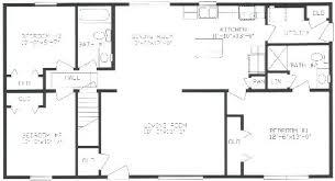 ranch floor plans with split bedrooms 3 bedroom split ranch floor plans glif org