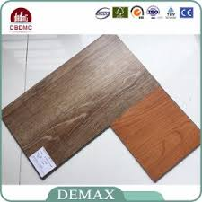 china easy to clean click fit system vinyl plank flooring china