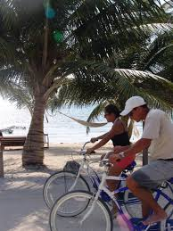 shore excursion bike u0026 clear bottom kayak adventure costa maya