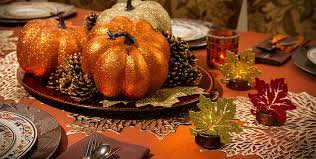 Fall Party Table Decorations - a simply unforgetable party shop