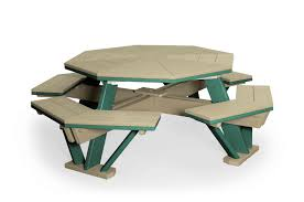 Build Your Own Octagon Picnic Table by Outdoor Pine Teak Or Poly Picnic Tables Backyard Billy U0027s Baltimore Md