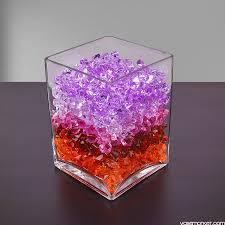 6 Inch Square Vase 6 Piece Set 8 X 6 X 6 Inch Square Glass Vase Vase Market
