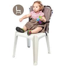 chaise nomade baby to chaise nomade 2 en 1 river de babytolove réhausseurs aubert