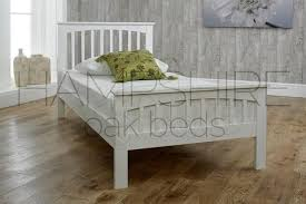 White Wood Bed Frame White Wooden Bed Frames U2013 Hampshire Oak Beds Oakworth Furniture Ltd