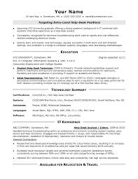 cover letter help desk resume examples resume examples help desk