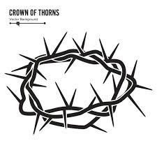 jesus on cross with crown of thorns clipart collection