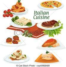cuisine dinner cuisine dinner with dessert icon vector