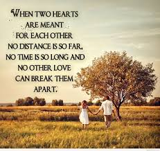 wedding quotes distance about true and distance relationship