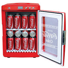 coca cola display cooler 28 can capacity koolatron corp kwc25