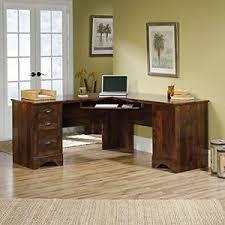 Computer Desk L Shape Sauder Harbor Corner Computer Desk L Shape With Slide Out Shelf