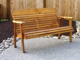 Red Cedar Outdoor Furniture by Cedar Swing Outdoor Glider Cedar Outdoor Furniture