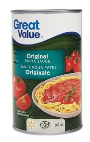 great value original pasta sauce walmart canada
