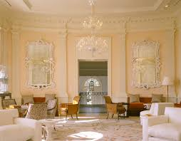 Mirror Decor In Living Room by Wonderful White Ornate Mirror Decorating Ideas Images In Living