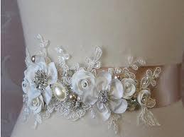 Wedding Sashes Best 2014 New Fashion Luxury Beaded Pearls Handmade Flower