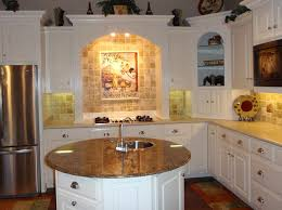 kitchen cabinet decorating ideas with decorating ideas for kitchen