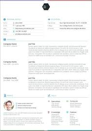 the best resume template cv template word best resume templates word free