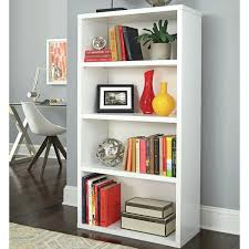 Sauder 4 Shelf Bookcase Capricious Sauder 4 Shelf Bookcase Mainstays Black South Shore