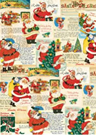 vintage christmas wrapping paper cavallini co vintage christmas decorative decoupage