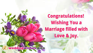wedding wishes to a congratulations wishing you a marriage filled with and