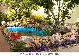 pond in the garden home garden garden decorations