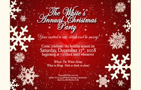 7 best images of holiday party announcement template christmas