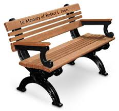 Commemorative Benches Cambridge Recycled Plastic Park Benches Memorial Bench Belson