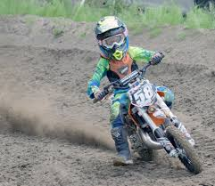 state motocross competition on the track family off it