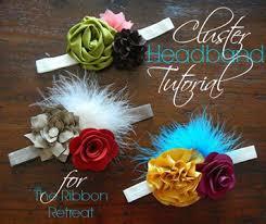 flower headbands diy diy projects hair flowers headbands