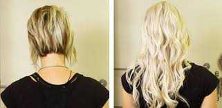 hair extensions for short hair before and after hair extensions before and after tressmerize