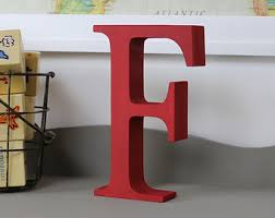 free standing distressed wooden letters alphabet decor