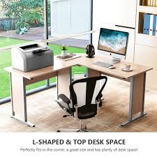 L Shaped Computer Desk Amazon by Amazon Com Tribesigns Large Modern L Shaped Desk 60