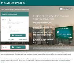 cathay pacific visa signature credit card application process