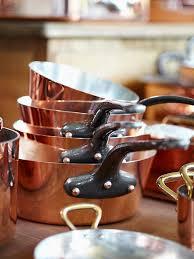 batterie de cuisine en cuivre casseroles mauviel la symphonie du cuivre régal