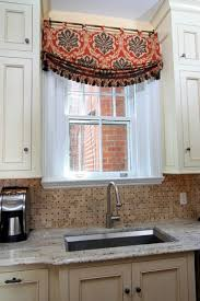 valance ideas for kitchen windows best 25 kitchen window valances ideas on window