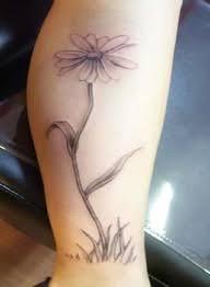 best 25 daisy flower tattoos ideas on pinterest name flower