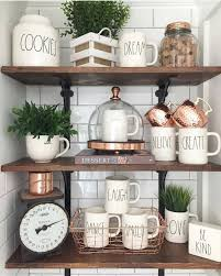 mixed copper collection plants u0026 eye catching kitchen items on