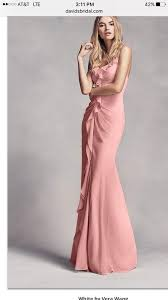 vera wang bridesmaid white by vera wang ballet pink vera wang bridesmaid dress blush