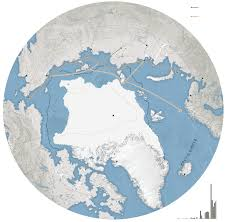 Arctic Map The Northeast Passage Opens Up Map Nytimes Com