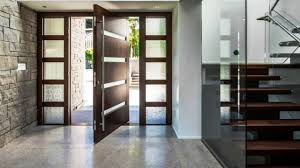Modern Exterior Doors by Stunning Modern Entryways With Pivoting Doors Youtube