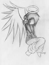 easy anime drawings of angels u2013 images free download
