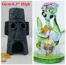 shop 2 pcs spongebob squidward s house mini squidward