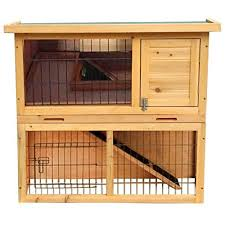 Guinea Pig Hutches And Runs For Sale Guinea Pig Cage For 2 Amazon Com