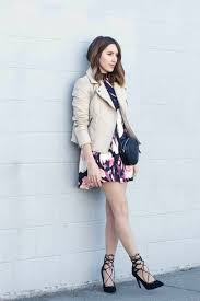 how to wear a black floral skater dress 9 looks women u0027s fashion