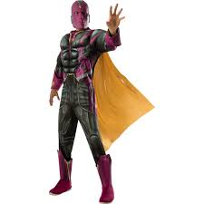 avengers 2 age of ultron deluxe mens vision costume