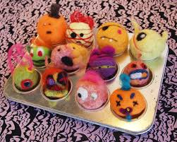 fancy tiger crafts craftastic halloween project woolly monster felts