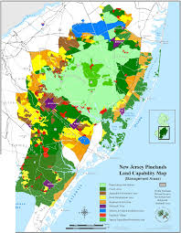 Map Of New Jersey Cities South New Jersey