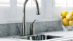 kohler faucets kitchen kitchen sinks and faucets kohler k 647 bl simplice pull