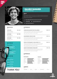 Free Download Creative Resume Templates Download Simple Resume Design Free Psd Psddaddy Com
