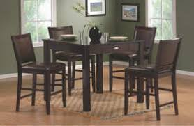 Espresso Bistro Table Counter Height Table Counter Height Dining Sets Counter Height