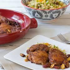 Main Dish Chicken Recipes - cinnamon spiced moroccan chicken mccormick